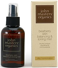 Парфюми, Парфюмерия, козметика Спрей за лице за мазна кожа - John Masters Organics Bearberry Oily Skin Balancing & Toning Mist