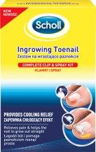 Парфюмерия и Козметика Спрей за крака - Scholl Ingrowing Toenail