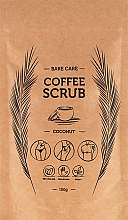 "Парфюмерия и Козметика Кафеен скраб ""Кокос"" - Bare Care Coconut Coffee Scrub"