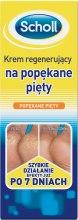 Парфюмерия и Козметика Крем за напукана кожа на петите - Scholl Regenerating Cream