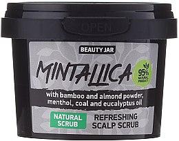 Парфюми, Парфюмерия, козметика Освежаващ скраб за скалп - Beauty Jar Mintallica Refreshing Scalp Scrub