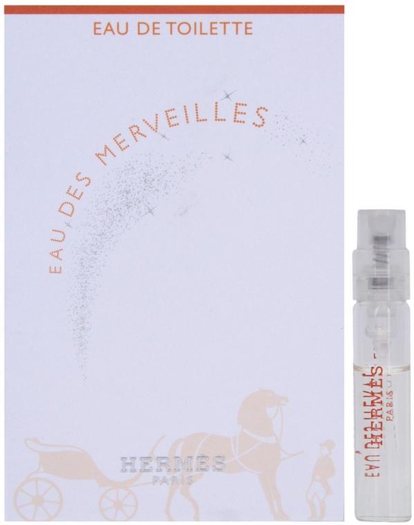 Hermes Eau des Merveilles - Тоалетна вода (мостра) — снимка N1
