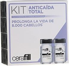 Парфюми, Парфюмерия, козметика Ампули с двойно действие срещу изтъняване на косата - Redken Cerafill Anticaida Total Kit