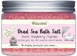 Парфюми, Парфюмерия, козметика Соли от мъртво море с аромат на малина - Nacomi Sweet Raspberry Cupcake Bath Salt