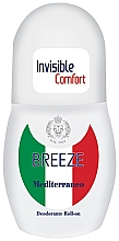 Парфюмерия и Козметика Рол-он дезодорант - Breeze Invisible Comfort Deodorante Roll-on