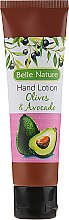 Парфюмерия и Козметика Крем за ръце с ароматна маслина и авокадо - Belle Nature Hand Lotion Olives&Avocado