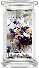 Парфюмерия и Козметика Ароматна свещ в бурканче - Kringle Candle Blueberry Muffin