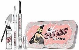 Парфюмерия и Козметика Комплект за вежди - Benefit The Great Brow Basics (гел/3g+молив/0.17g+молив/mini/0.04g)