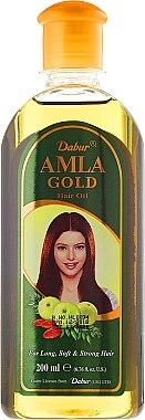 "Масло за коса ""Злато"" - Dabur Amla Gold Hair Oil — снимка N2"