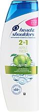 """Парфюмерия и Козметика Шампоан и балсам против пърхот 2 в 1 """"Свежа ябълка"""" - Head & Shoulders Apple Fresh Shampoo 2in1"""