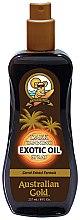 Парфюмерия и Козметика Спрей масло активатор за тен - Australian Gold Dark Tanning Exotic Oil Spray