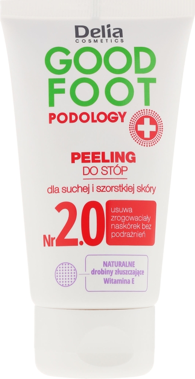 Пилинг за крака - Delia Cosmetics Good Foot Podology Nr 2.0