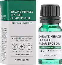 Парфюмерия и Козметика Успокояващо масло за лице за чувствителна кожа - Some By Mi 30 Days Miracle Tea Tree Clear Spot Oil