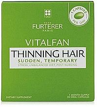 Парфюмерия и Козметика Витамини против косопад - Rene Furterer Vitalfan Stress Hair Loss Vitamins