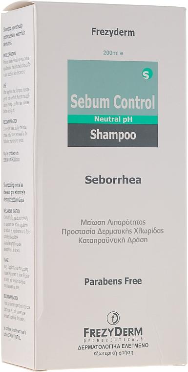 Шампоан против себореен дерматит - Frezyderm Sebum Control Seborrhea Shampoo — снимка N3