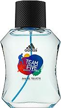 Парфюмерия и Козметика Adidas Team Five - Тоалетна вода