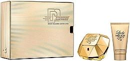 Парфюмерия и Козметика Paco Rabanne Lady Million - Комплект (парф. вода/50ml + лосион за тяло/75ml)