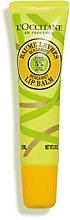 Парфюмерия и Козметика Балсам за устни с масло от шеа и бергамот - L'Occitane Shea Butter Bergamot Lip Balm