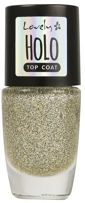 Топ лак с блестящи частици - Lovely Holo Top Coat