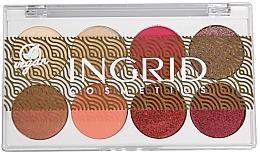 Парфюмерия и Козметика Ingrid Cosmetics Bali Eyeshadows Palette - Палитра сенки за очи