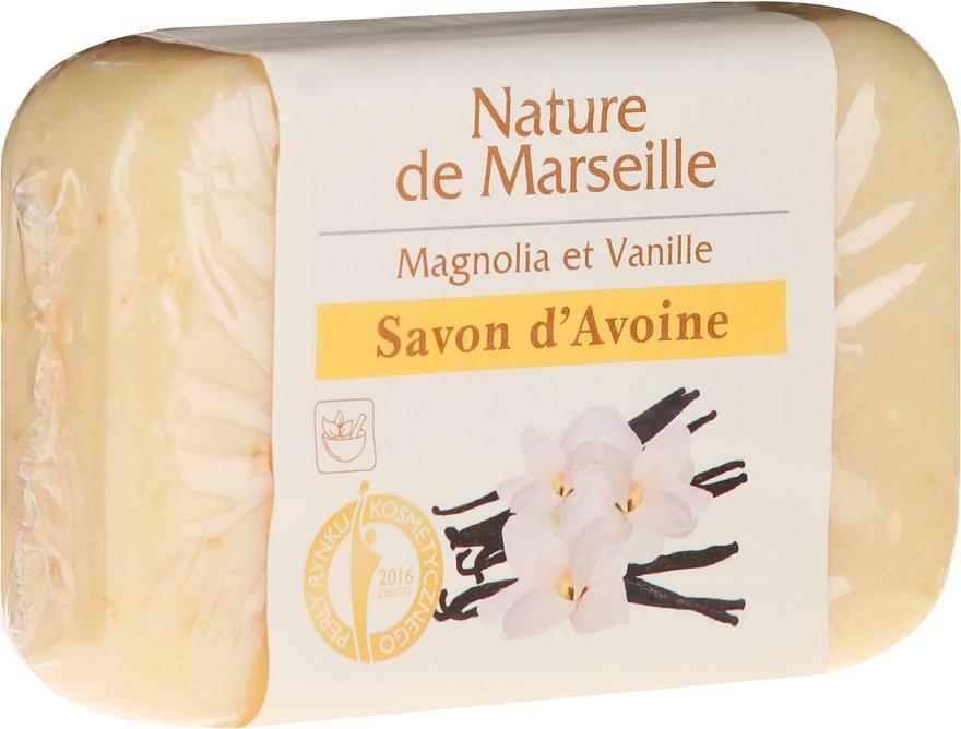 Овесен сапун с аромат на магнолия и ванилия - Nature de Marseille Soap