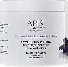 "Парфюмерия и Козметика Пилинг за крака ""Лавандула"" - APIS Professional Lavender Soothing Lavender Peeling For Foot Care"