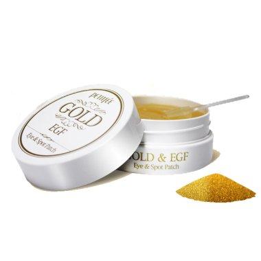 Хидрогел пачове за очи със злато - Petitfee & Koelf Gold&EGF Eye&Spot Patch  — снимка N4