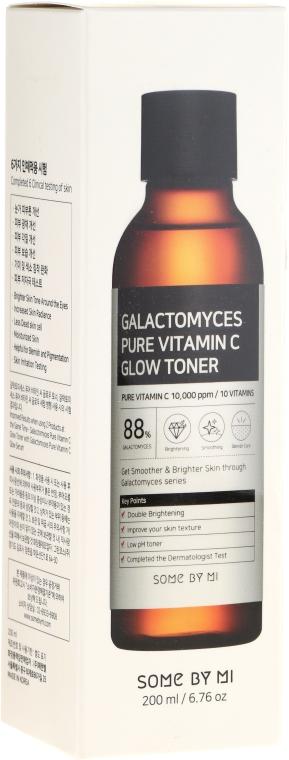 Тонер с витамин C и галактоми - Some By Mi Galactomyces Pure Vitamin C Glow Toner