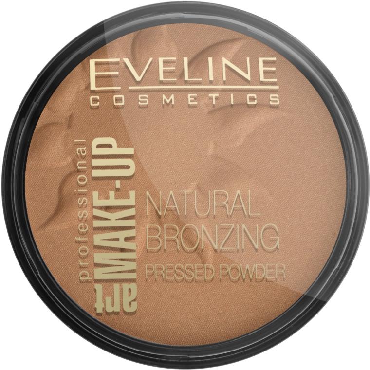 Компактна бронзираща пудра - Eveline Cosmetics Art Professional — снимка N1
