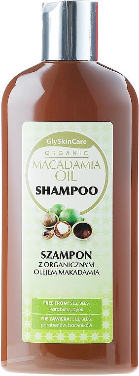 Шампоан с масло от макадамия и кератин - GlySkinCare Macadamia Oil Shampoo