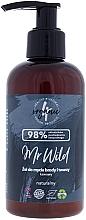 Парфюмерия и Козметика Почистващ гел за лице и брада с аромат на кафе - 4Organic Mr Wild Coffee