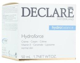 Парфюмерия и Козметика Овлажняващ крем c витамин Е - Declare Hydroforce Cream