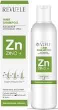 Парфюмерия и Козметика Шампоан против пърхот за всички типове коса - Revuele Zinc+ Hair Shampoo