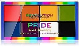 Парфюмерия и Козметика Палитра за грим - Makeup Revolution X Pride Express Myself Face Paint Palette