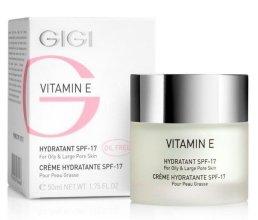 Парфюмерия и Козметика Овлажнител за мазна кожа - Gigi Vitamin E Moisturizer for oily skin SPF 17