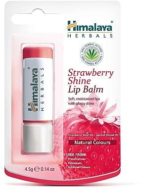 "Балсам за устни ""Ягодов блясък"" - Himalaya Herbals Strawberry Shine Lip Balm"
