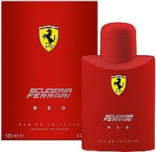 Парфюмерия и Козметика Ferrari Scuderia Ferrari Red - Тоалетна вода