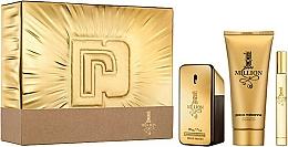 Парфюмерия и Козметика Paco Rabanne 1 Million - Комплект (тоал. вода/50ml + тоал. вода/10ml + душ гел/100ml)