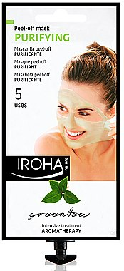 Маска за лице - Iroha Nature Green Tea Purifying Peel-Off Mask — снимка N1