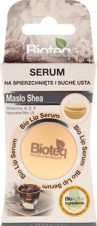 Балсам за сухи и напукани устни - Bioteq Bio Lip Serum Shea Butter