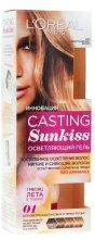 Парфюмерия и Козметика Изсветляващ гел за коса - L'Oreal Paris Casting Sunkiss