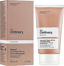 Парфюмерия и Козметика Слънцезащитен крем с минерални филтри - The Ordinary Suncare Mineral UV Filters SPF30 Antioxidants