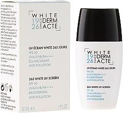 Парфюми, Парфюмерия, козметика Изсветляващ защитен крем 365 дни - Academie White Uv Screen SPF 50
