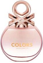 Парфюми, Парфюмерия, козметика Benetton Colors De Benetton Rose - Тоалетна вода