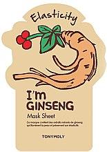Парфюми, Парфюмерия, козметика Памучна маска за лице - Tony Moly I'm Real Gingseng Sheet Mask