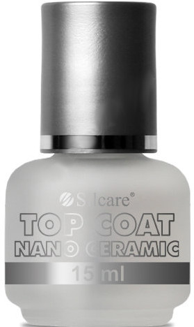Топ лак - Silcare Top Coat Nano Ceramic