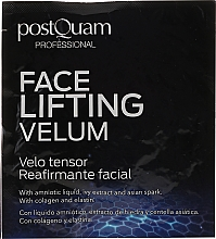 Парфюмерия и Козметика Лифтинг маска за лице - Postquam Face Lifting Velum