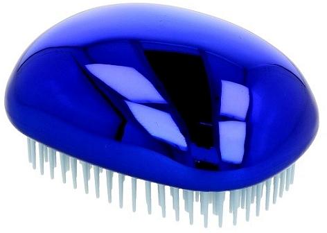 Четка за коса, блестящо синя - Twish Spiky 3 Hair Brush Shining Blue