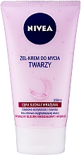 Парфюмерия и Козметика Измиващ крем-гел за лице за суха и чувствителна кожа - Nivea Visage Cleansing Soft Cream Gel