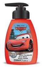"""Парфюми, Парфюмерия, козметика Течен сапун за ръце """"Cars McQueen"""" - Disney Cars McQueen Hand Wash Soap"""